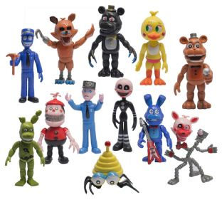 Five Nights at Freddy's Set Of 12 Action Figures